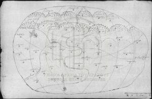 Read more about the article Ένας χειρόγραφος χάρτης μιας πελοποννησιακής επαρχίας το 1823
